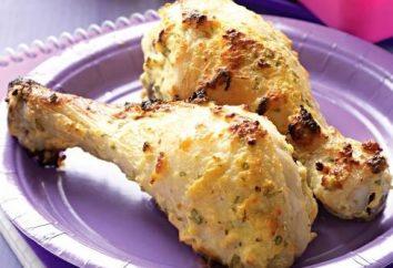 coxa de frango delicioso no forno