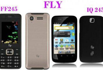 Teléfono Fly 245: características y comentarios