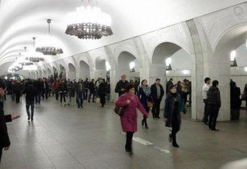 """Stazione """"Pushkinskaya"""". metropolitana di Mosca non può essere interessato a"""