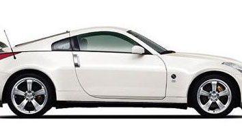 Nissan 350Z: pierwszego do piątego pokolenia