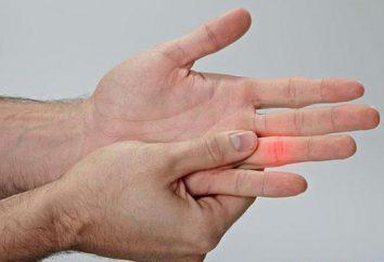 Que faire si les symptômes de doigts assommés, les premiers soins