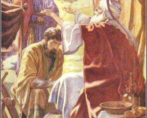 Z kim Jacob stał w nocy? Z którymi Jakub zmagał się przez całą noc?