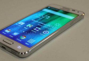 Smartphone Samsung Galaxy A3: Beschreibung, Merkmale, Bewertungen der Eigentümer