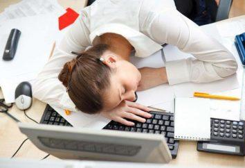Como acordar no trabalho, se os olhos estão fechados: dicas e exercícios