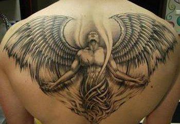 """Tatuaż """"archanioł"""": szczególnie ważne zdjęcia"""