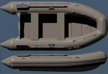 """Nadmuchiwane PVC """"Cayman-360"""": opis, dane techniczne, opinie"""