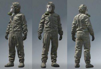 tuta NBC (UGC): cappotto, coperture del pattino, tute. Dispositivi di protezione individuale