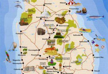 Sri Lanka Island: opis, zwiedzanie miast,