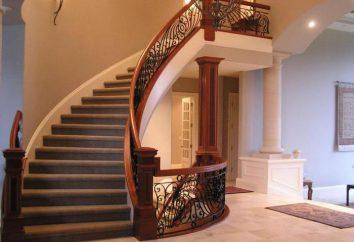 Szerokość schodów w prywatnym domu: optymalny rozmiar i zalecenia