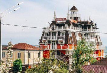 """Hotel """"Villa del búho"""", Abjasia: la descripción, las características, cantidad, ubicación y comentarios"""