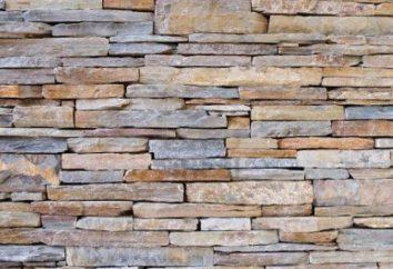 pedra decorativa no interior – o elemento de moda de decoração