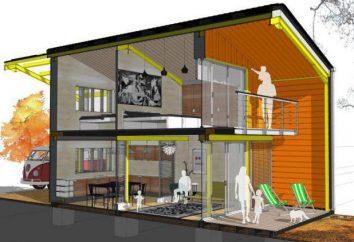 Plan Maison 10 à 10 caractéristiques (conception de deux étages)