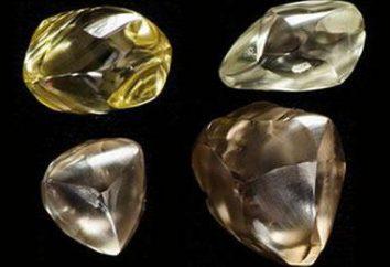 Was ist anders an den Diamanten vom Diamanten? Fotos, Beschreibungen