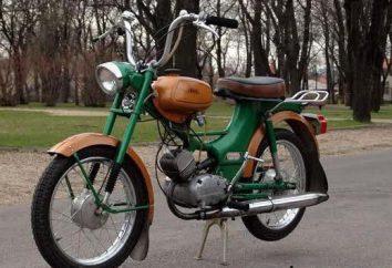 """""""Riga-16"""" (ciclomotor): Especificaciones"""