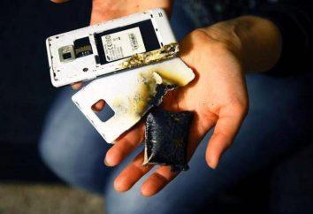 Telefon bateria eksplozja, dlaczego tak się stało?