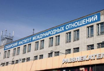 Siberian Instytut Stosunków Międzynarodowych i Studiów obszarze (SIMOiR): Adres, wydziały, praktyka i zatrudnienie