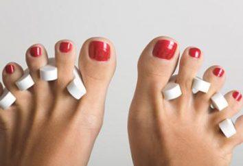 Wie zur Behandlung von Blasen an den Füßen