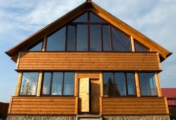 Terminar uma casa de madeira – uma combinação de praticidade, durabilidade e beleza