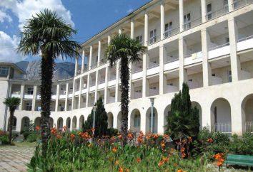 Sanatorium Simeiza: panoramica, descrizione, caratteristiche