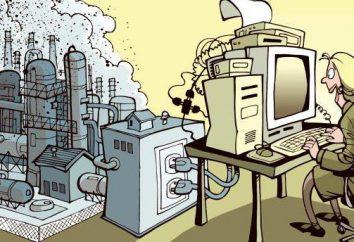 Was unterscheidet sich von der postindustriellen Struktur der industriellen? Die wichtigsten Funktionen