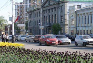 Tambov, atrakcji: parki, muzea, kościoły i place (zdjęcia)