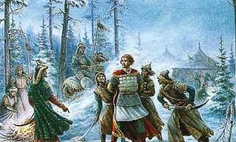 Les première et deuxième voyages Batu Rus