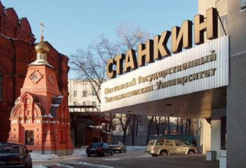 """Uniwersytet Moskiewski Państwowy Technologiczny """"STANKIN"""" (MSTU """"STANKIN""""): opinie, adres, uboczny wyniki, wydziały"""