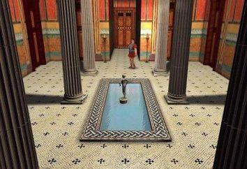 Atrium – un elemento básico de la arquitectura romana