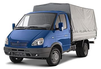 """Car """"Gazelle"""": wielkości furgonetki"""