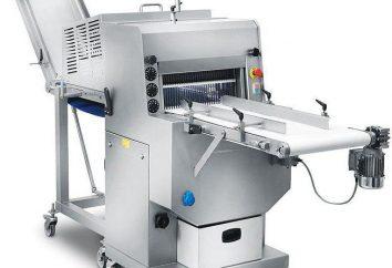 affettatrice industriale per il taglio: Tipi