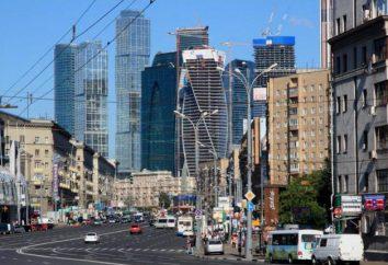Nuove aree di Mosca: Descrizione, ubicazione, i benefici e recensioni