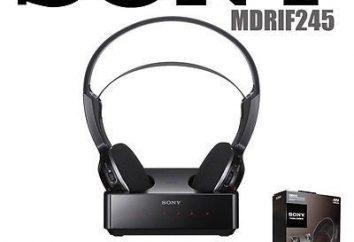 Sony Casque sans fil: avis. Sony Casque sans fil avec microphone: avantages et inconvénients