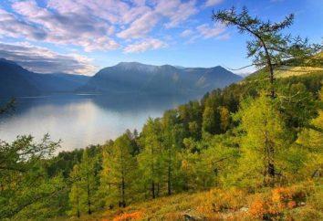 Teletskoye Lake: parque de campismo, camping, caminhadas, os complexos