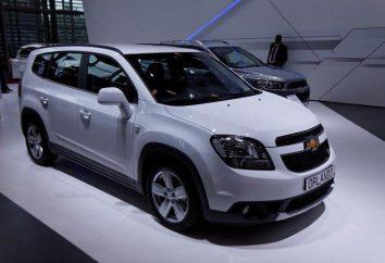 """Minivan Chevrolet Orlando ( """"Orlando Chevrolet""""): le specifiche, test drive, completa"""