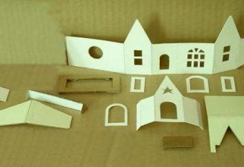 Jak zrobić dom z papieru do gry lub dekoracji wnętrz