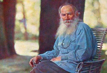 Tolstois Buch. Kindliche Bildung blühend kreative Schriftsteller
