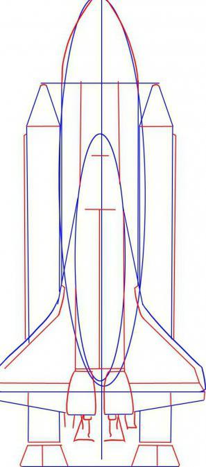 Comment dessiner une roquette et un astronaute instruction tape par tape - Dessiner une fusee ...