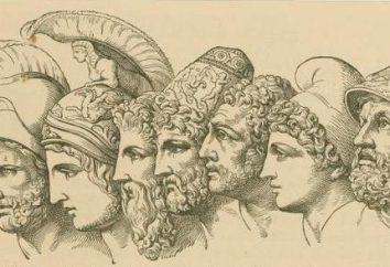 Os heróis da Grécia Antiga: os nomes e talentos