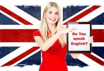 Antrag auf Englisch zu lernen. Tutorials