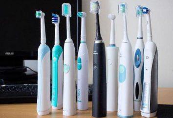 Brosse à dents avec charge: caractéristiques, types, fabricants et critiques