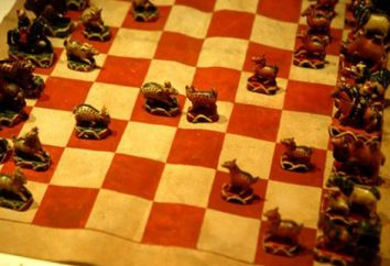 Mongolski szachy: nazwa figur i zdjęć