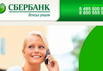 bloqueo de la tarjeta (Sberbank) en el teléfono. Las instrucciones para el bloqueo robado o perdido accidentalmente la tarjeta