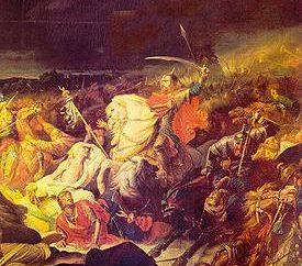 Który przedstawia Rus Bitwy Kulikowym