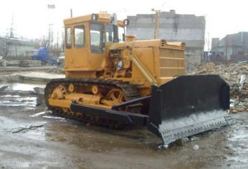 T 170 – Raupentraktor. Technische Daten und Fotos