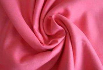 tafta tkanina: odmiany, właściwości, opieka