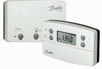 termostato Danfoss: principi di funzionamento, istruzioni, recensioni