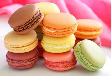 "Cake ""Macaroni"". Ricetta per dolci francesi ""Maccheroni"""