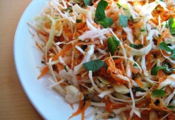 Jak gotować zdrowe witaminy sałatka z kapusty i marchewki sałatka z octem