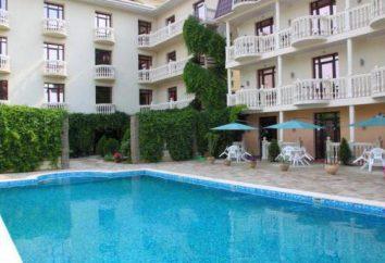 Sudak, hotéis com uma piscina, a comida na praia