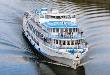 navires à moteur de Perm: croisières sur la Volga
